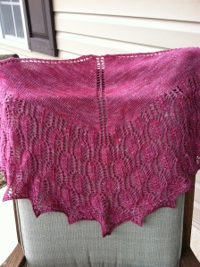 Warwick Shawl by Irish Girlie Knits